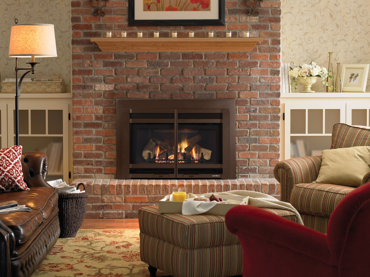 tip 27 clean the face of your brick fireplace with a simple